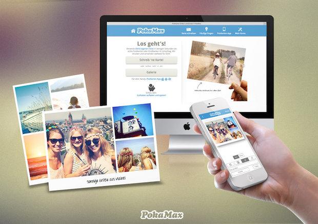 Bild von Emotionen und Erinnerungen mit selbstdesignten Postkarten teilen