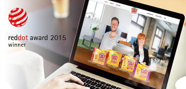 Photo of TWT und Tillman's Toasty werden mit Red Dot Award ausgezeichnet