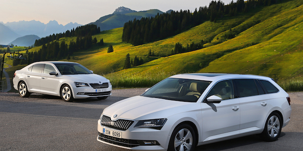 Der neue SKODA Superb GreenLine