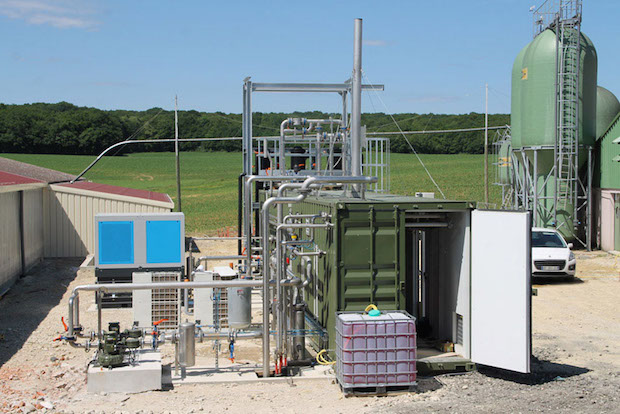Photo of WELTEC-Biomethananlage in Frankreich startet Einspeisung