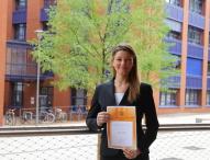 Studentin der Hochschule Bremerhaven erhält Jane M. Klausman Award 2015