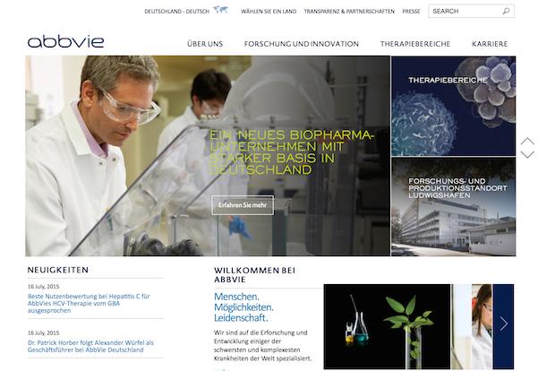 Photo of Neuer Internetauftritt des BioPharma-Unternehmens AbbVie Deutschland
