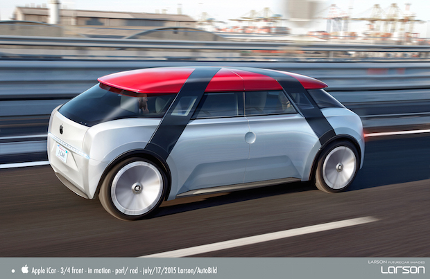 Photo of AUTO BILD entwirft das Apple-Auto