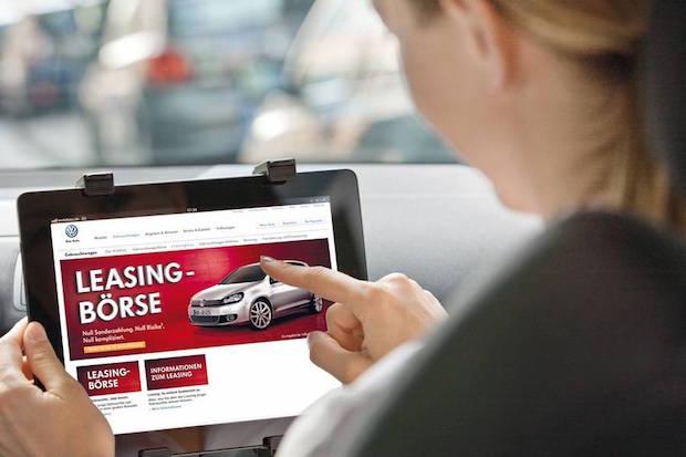 Bild von Auto: Online lassen sich junge Gebrauchte zu günstigen Raten leasen
