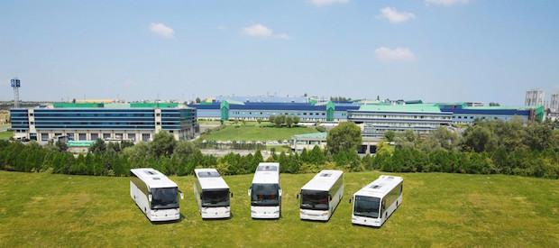 Bild von 20 Jahre Omnibuswerk der Mercedes-Benz Türk in Hoşdere bei Istanbul