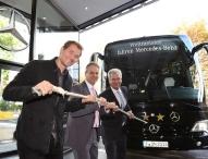 """""""4-Sterne-Bus"""" für das Deutsche Fußballmuseum"""