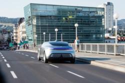 Der F 015 Luxury in Motion auf dem Ars Electronica Festival in Linz - Quelle: Daimler AG