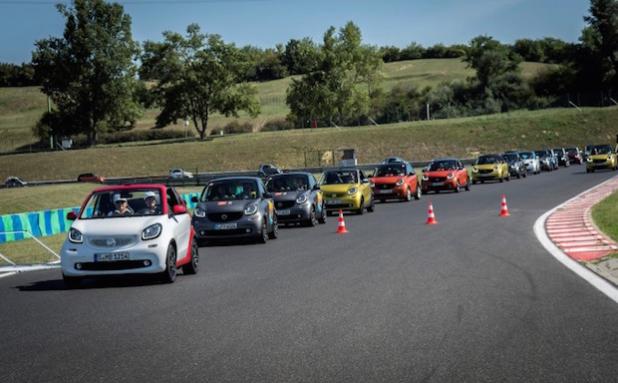 smart times 15 in Budapest, Ungarn - Quelle: Daimler AG