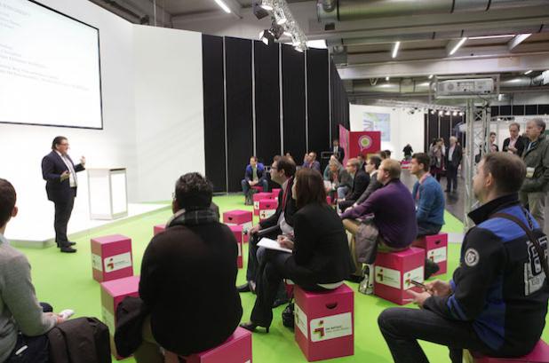 Die Fachforen vermitteln Expertenwissen für Gründer. - Quelle: Westfalenhallen Dortmund GmbH