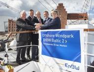 Zweiter EnBW Offshore-Windpark erzeugt  Strom für 340.000 Haushalte