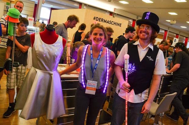 Photo of Kreative Kleidung mit elektronischem Innenleben – Die Fashion-Show auf der Maker Faire Berlin