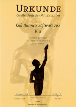 Quelle: knk Business Software AG