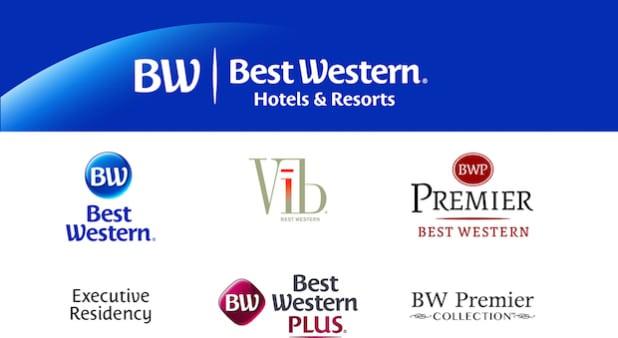 Die Markenfamilie von Best Western Hotels & Resorts. - Quelle: Best Wester Hotels Deutschland GmbH