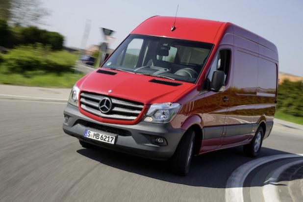 Mercedes-Benz Sprinter 2013, Kastenwagen, Exterieur - Quelle: Daimler AG