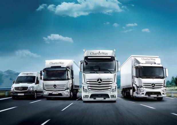 CharterWay Mietflotte auf über 9.000 Einheiten erhöht - Quelle: Daimler AG