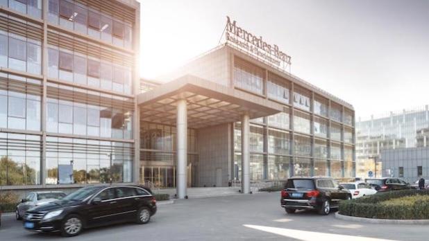 Das Mercedes-Benz Forschungs- und Entwicklungszentrum in Peking, China - Quelle: Daimler AG