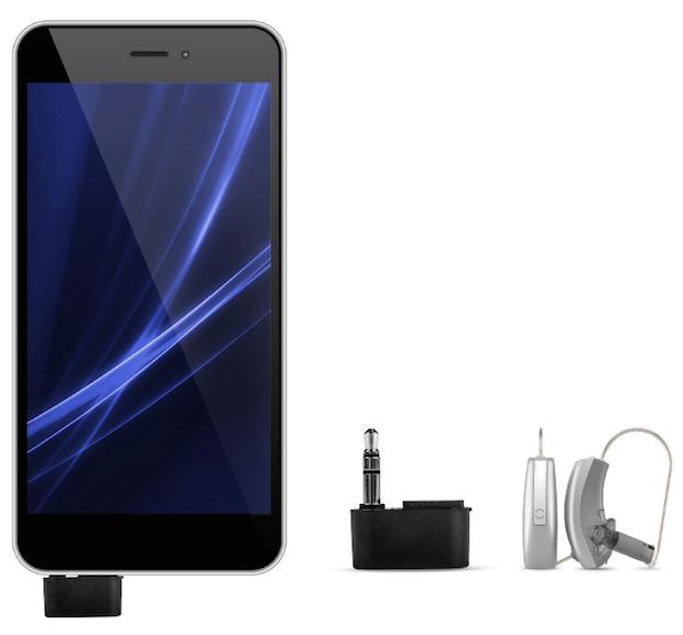 Bild von Das perfekte Doppel: Smartphone und Hörgerät