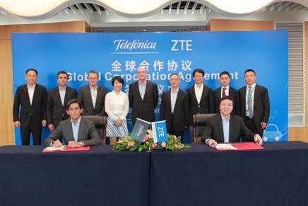 Photo of ZTE und Telefónica stärken ihre Partnerschaft durch globalen Kooperationsvertrag