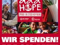 Add Hope – KFC spendet Hoffnung für den Kampf gegen den Hunger