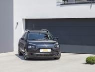 Sportlich-Dynamischer Auftritt für Citroën C4 Cactus: ST suspensions Fahrwerkzubehör erhältlich