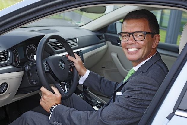 Bild von Neuer Vertriebschef und neuer zweiter Geschäftsführer bei SKODA AUTO Deutschland