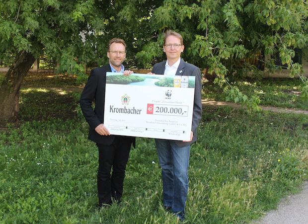 Photo of Krombacher spendet 200.000 EUR an den WWF