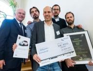 Startbahn Ruhr und pro Ruhrgebiet zeichnen die Gewinner des Business-plan Wettbewerbs Medizinwirtschaft 2015 aus