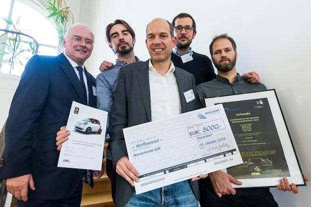 Photo of Startbahn Ruhr und pro Ruhrgebiet zeichnen die Gewinner des Business-plan Wettbewerbs Medizinwirtschaft 2015 aus
