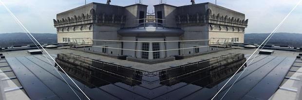 Photo of Photovoltaikanlage auf dem Dach des Parlaments-gebäudes in Belfast
