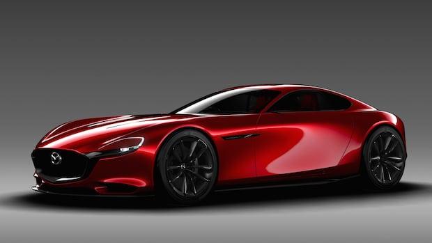 Bild von Mazda präsentiert Sportwagen-Konzept RX-Vision