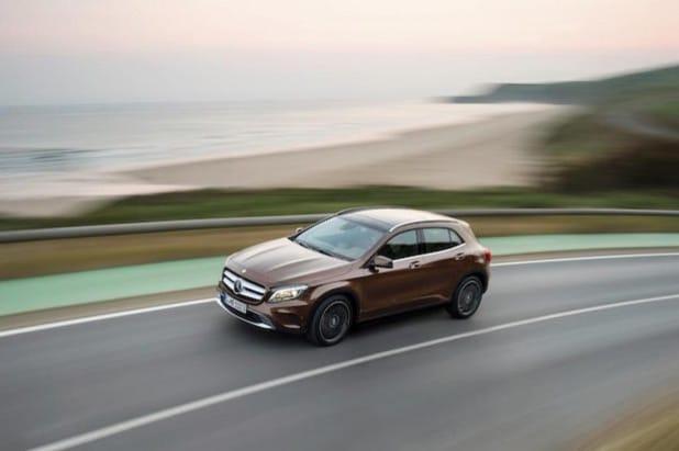 Mercedes-Benz GLA 220 CDI 4MATIC (X156) 2013 - Quelle: Daimler AG