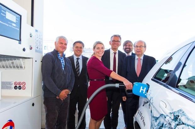 Bild von Fünfte Wasserstoff-Tankstelle in Baden-Württemberg eröffnet