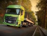 Produktoffensive von Mercedes-Benz Trucks und Vans in Brasilien