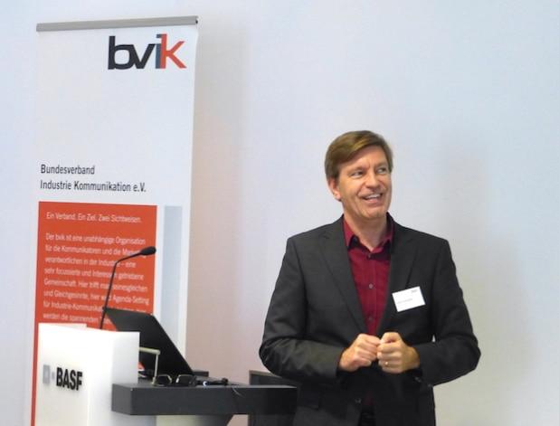 Roland Schweighöfer, Client Service Director, Saatchi & Saatchi Pro - Quelle: bvik