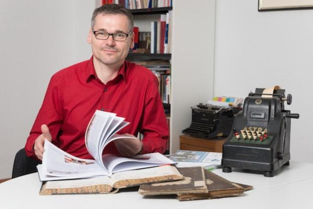 Dr. Ingo Stader, Historiker und Geschäftsführer, H&C Stader GmbH - Quelle: Thomas Rittelmann