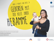"""Weleda unterstützt """"unsere Hebammen"""" – Eine Kampagne zur Rettung des Hebammenberufs"""