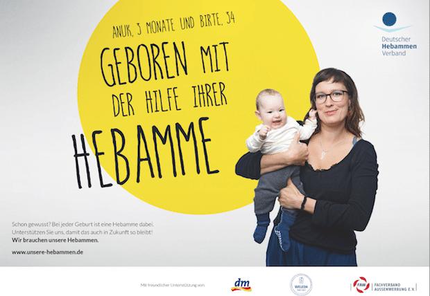 """Photo of Weleda unterstützt """"unsere Hebammen"""" – Eine Kampagne zur Rettung des Hebammenberufs"""