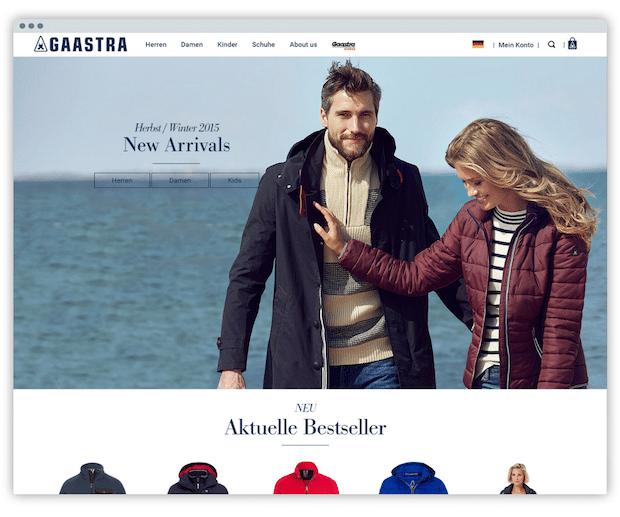 Photo of Fashion-Marke Gaastra mit neuem Shopware 5-Shop online