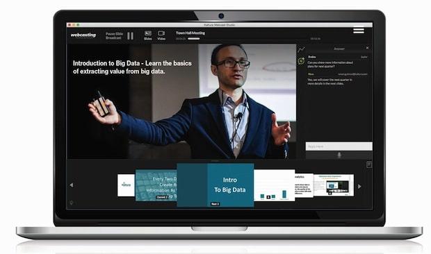 Bild von Webcasting: der virtuelle Konferenzraum