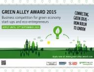 Aus 100 Bewerbungen wurden sechs europäische Startups für den Green Alley Award nominiert