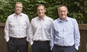 v.l.n.r.: Georg Frischmuth, Gerd Schneider, Reiner Wieck Quelle: Solcon Systemtechnik GmbH
