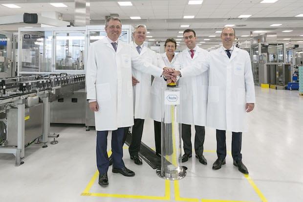 Bild von Roche eröffnet am Standort Mannheim ein neues Produktionsgebäude