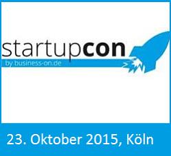 Photo of StartupCon 2015: Nur noch heute und morgen Early Bird Tickets!