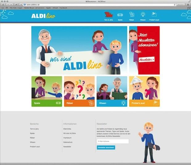 Photo of ALDI SÜD startet neue Kindermarke ALDIlino