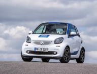 1.600 neue smart fortwo Fahrzeuge für car2go Kunden