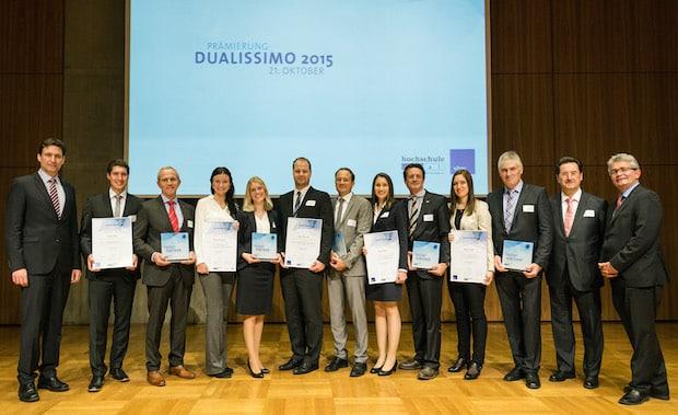 Bild von Beste Absolvent/innen des dualen Studiums in Bayern ausgezeichnet
