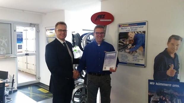 """Photo of Premio Reifen + Autoservice zeichnet """"Top 20-Betriebe"""" aus"""
