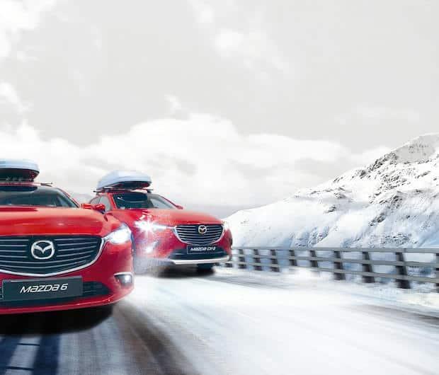 Bild von Mit Mazda sicher durch den Winter