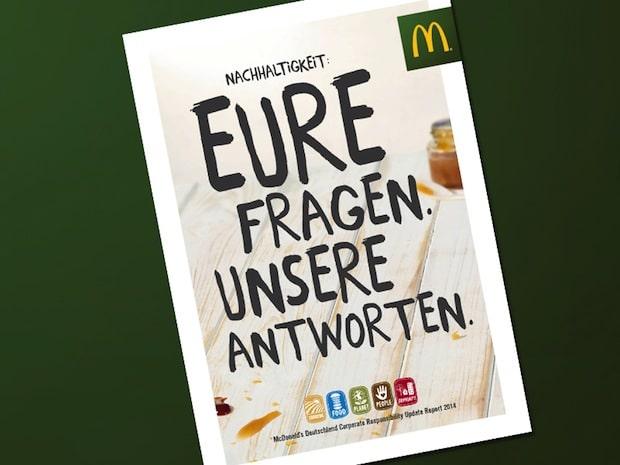 Bild von McDonald's Deutschland senkt CO2-Emissionen seiner Restaurants um über 80 Prozent