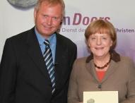 Bundeskanzlerin Merkel im Gespräch mit Open Doors